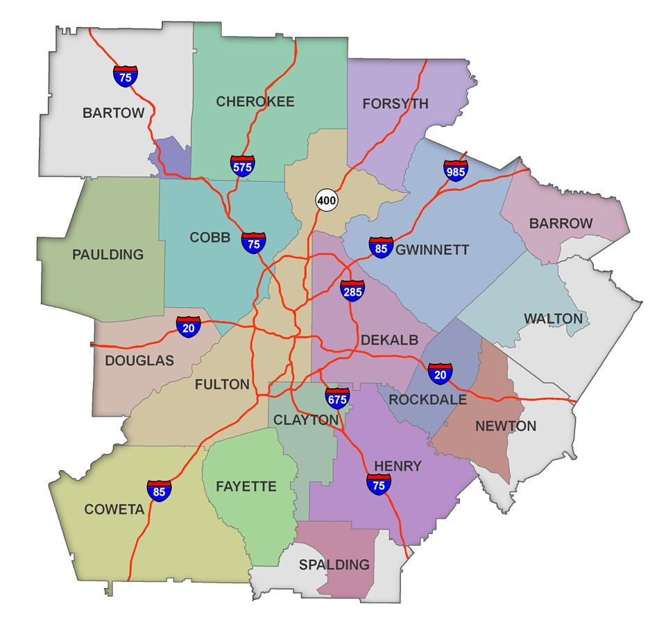 Healthforce of Georgia serves Atlanta and surrounding 18 counties.