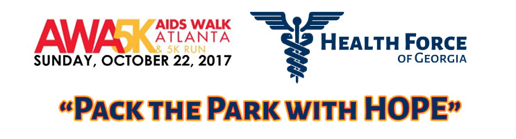 Aids Walk Atlanta 5K - Health Force of Georgia