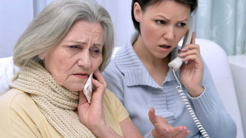 Advice for Families and Caregivers of Seniors with the Flu