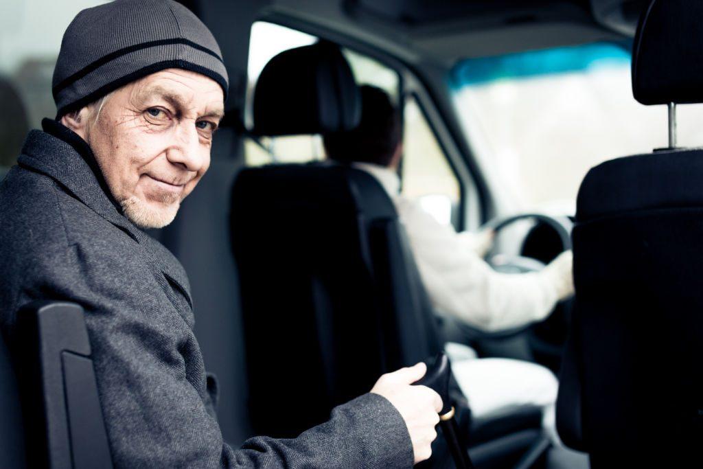 Solving Senior Transportations Needs with Uber