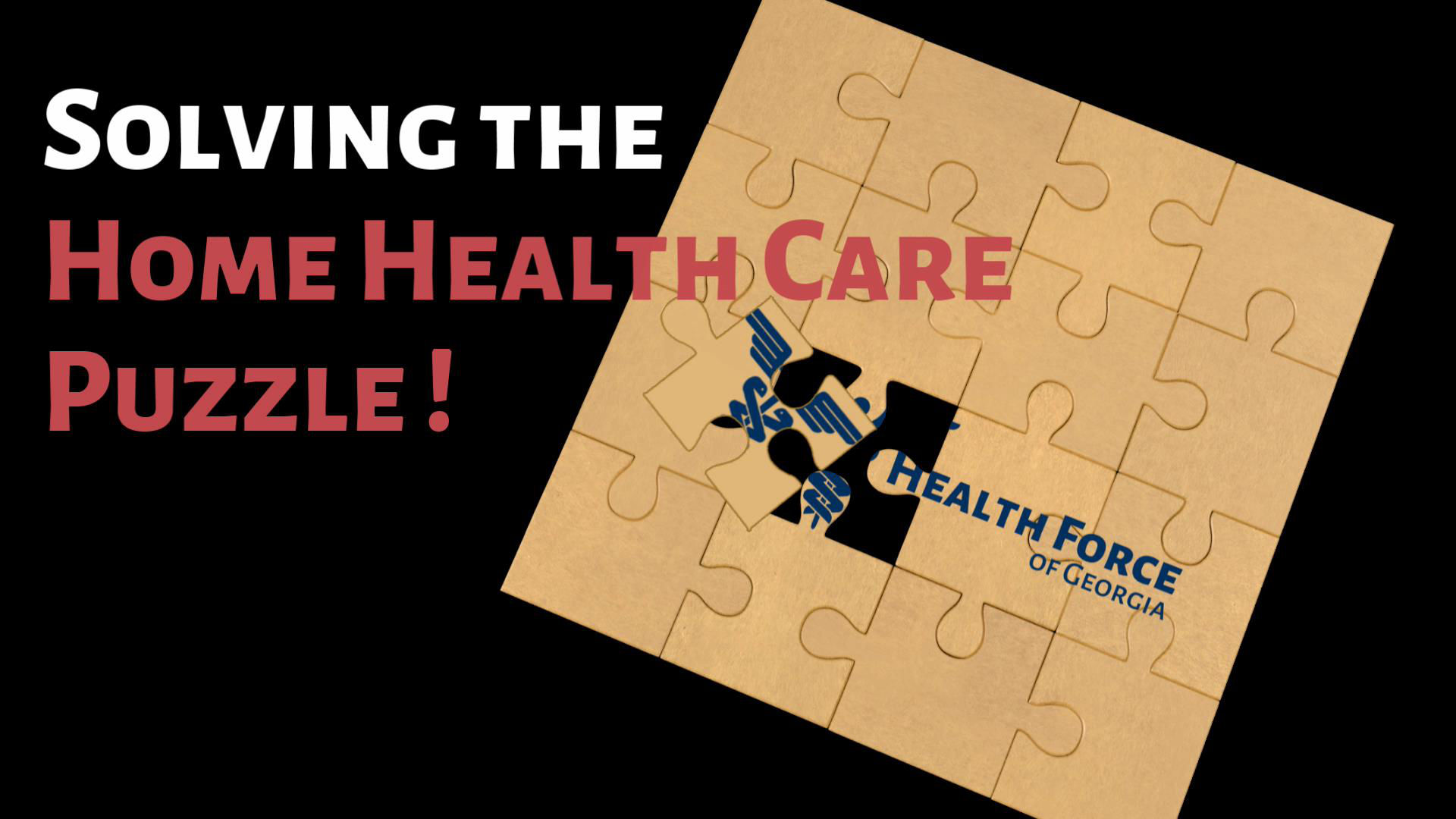 Solving the Home Health Care Puzzle - Health Force of Georgia