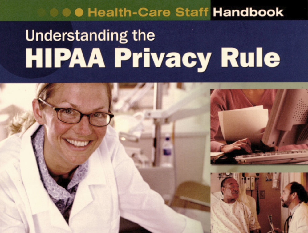 HIPPA Privacy Rule Training Cover