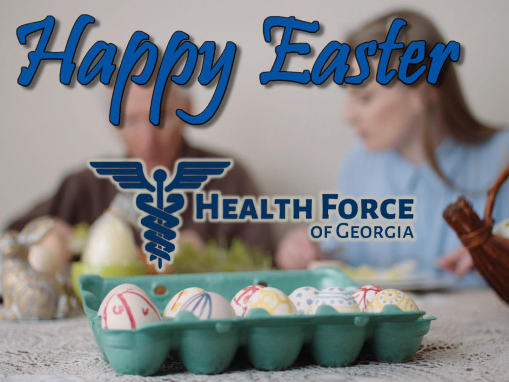 Happy Easter from Health Force of Georgia