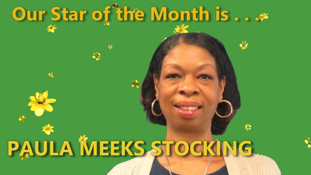 Paula Meeks Stocking is our Star of the Month - Health Force GA - April 2020