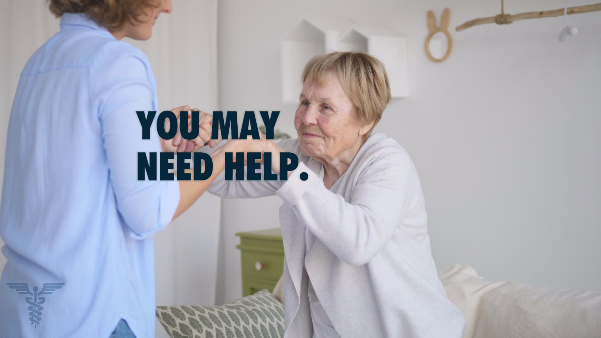 You may need home health care to keep a loved one at home.