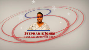 Stephanie Jones is the Health Force of Georgia Star of the Month for July 2020